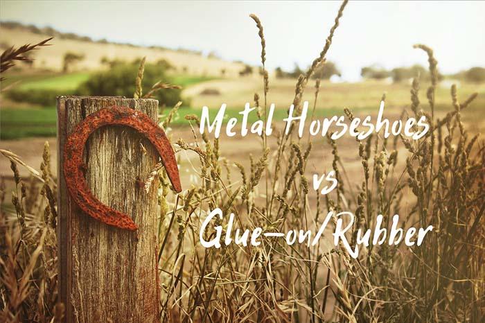 What's Better: Metal Horseshoes vs Rubber Horseshoes