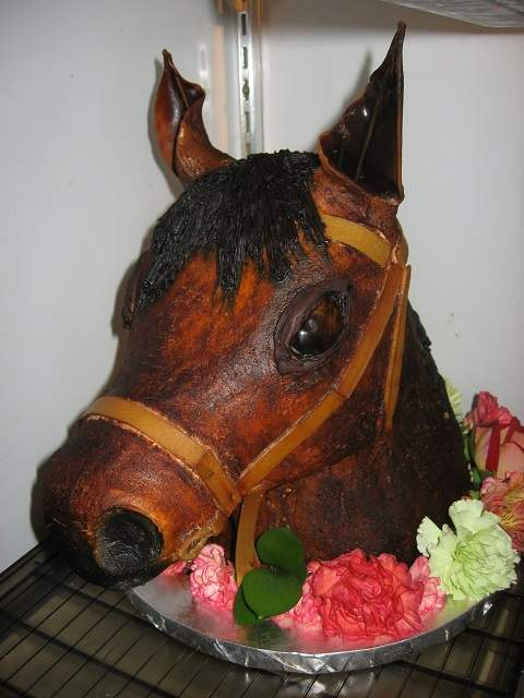 vegan horse cake